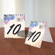 Numar masa Carte Postala