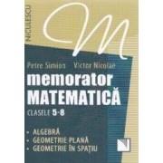 Memorator matematica cls 5-8 - Petre Simion Victor Nicolae