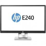 Monitor LED EliteDisplay E240, 23.8'' FHD, 7ms, Negru/Gri