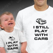 T-shirts Play With Cars - Bebé