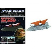 Star Wars Starships &Vehicles Collection #6 Jabba the Hutt's Sail Barge