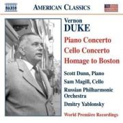 V. Duke - Piano Concerto/ Cello Conc (0636943928622) (1 CD)