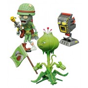 Diamond Select Toys Plants vs. Zombies: Weed vs. Soldier Zombie Select Action Figure (2 Pack)