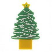 Árvore de Natal USB PenDrive 4G em forma