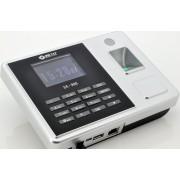 Pointeuse biometrique avec ecran 2.8 / 10 cartes RFID / Port Ethernet + Port USB