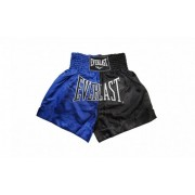 Sort Muay Thai Everlast EM7 Blue/Black