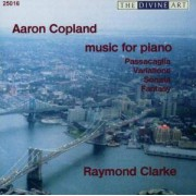 Aaron Copland: Music for Piano