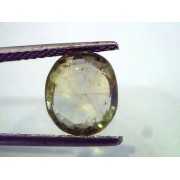 3.68 Carat Unheated Untreated Natural Srilankan Green Sapphire