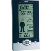 Vezeték nélküli digitális időjárásjelző állomás fekete/ezüst TFA Studio 35.1085 (393286)