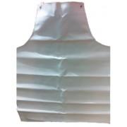 Delantal plastificado con peto blanco