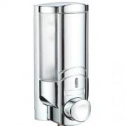Zeepdispenser Calm Woodynox Verchroomd Acryl 6.5x7x16cm