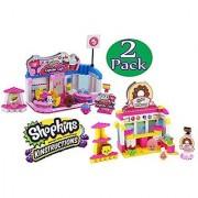 Shopkins Kinstructions Cupcake Cafe & Bakery Complete Bundle - 2 Pack