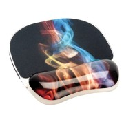 Photo Gel Wrist Support Rest and Mousepad