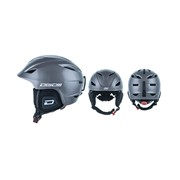 Dirty Dog ECLIPSE Ski Helmet (Adults) - Dark Silver