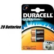 Duracell CR17355 10 x CR2 Ultra batería de litio (2 unidades)