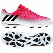 adidas Kinder-Fußballschuh MESSI 16.1 FG J - red/core black/white | 3