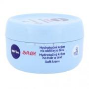 Nivea Baby Soft Cream 200ml Детска козметика за Жени Хидратиращ крем за лице и тяло