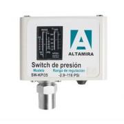 Interruptores de presión para alta presión