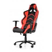 AKRacing Player Gaming Chair Black Red Ергономичен геймърски стол