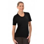 Trigema Damen Ski/Sport Shirt Größe: S Material: 100 % Polyester Bioactive Farbe: schwarz