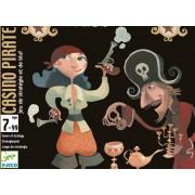 Joc de cărți Djeco Casino Pirate