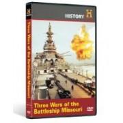 Three Wars of the Battleship Missouri DVD