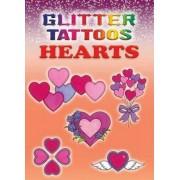 Glitter Tattoos Hearts by Charlene Tarbox