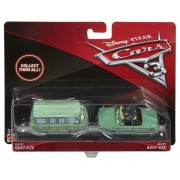 Mattel Cars - Pack 2 Véhicules Mcqueen Et Luigi & Guido
