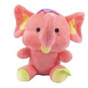 Tickles Pink Cute Baby Elephant Stuffed Soft Plush Toy 17 Cm