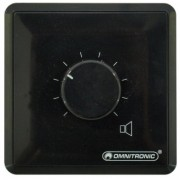 OMNITRONIC PA Volume Controller 10W stereo bk