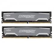 Memorie Crucial Ballistix Sport 8GB (2x4GB) DDR4, 2400MHz, PC4-19200, CL16, Dual Channel Kit, BLS2K4G4D240FSA