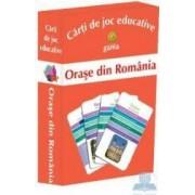 Orase din Romania - Carti de joc educative