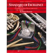 Standard Of Excellence Trombone T.c. Book 1 (comprehensive Band Method) by Bruce Pearson