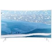 Televizor LED Samsung UE55KU6510, curbat, smart, Ultra HD, PQI 1600, 55 inch, DVB-T2/C/S2, alb