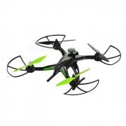 JJRC X1 R / C Quadcopter w / sin escobillas del motor y luz LED - Verde