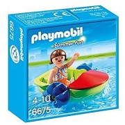 PLAYMOBIL Childrens Paddle Boat Playset