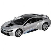 Kinsmart BMW i8 1:36 Scale Super Car Gray