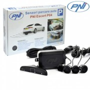 Kit senzori parcare auto PNI P04 cu 4 receptori