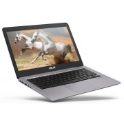 "Asus UX310UA-FC468T, Intel Core i3-7100U (2.4GHz, 3MB), 13.3"" FullHD (1920x1080) LED AG, HD Cam, 4096 DDR4 2133MHz (1 slot free), 256GB SSD SATA3, Intel HD Graphics 520, Win 10 64 bit, Carry Sleeve, Silver"
