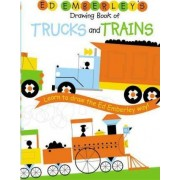 Ed Emberley Drawing Book Trucks and Trains by E. Emberley