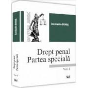 Drept penal. Partea speciala Vol. 1 - Constantin Duvac