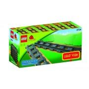 Lego Straight Rails