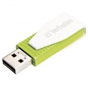 Verbatim 32GB Store n Go Swivel USB 2.0 Flash Drive Eucalyptus Green 49815