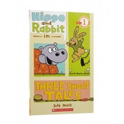 Hippo & Rabbit in Three Short Tales by Jeff Mack