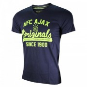 T-shirt Ajax Blauw Senior