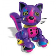 Zoomer Meowzies Lucky Interactive Kitten with Lights Sounds and Sensors by Spin Master
