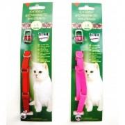 Obojek pro kočky 10 x 30 elastický