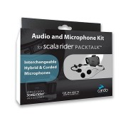 Scala Rider Audio and Microphone Kit - Packtalk
