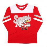 AFL Toddler Script Long sleeve Tee Sydney Swans