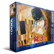 EuroGraphics The Kiss (detail) by Gustav Klimt 1000 Piece Jigsaw Puzzle by Eurographics